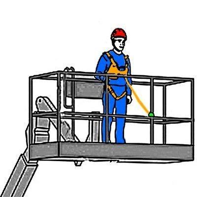 Строп для позиционирования регулируемой длины с амортизатором рывка, вертлюгом для предотвращения скручивания стропа и соединительным монтажным карабином