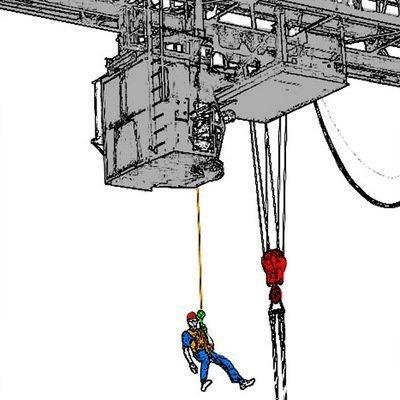 Комплект эвакуационный спасательный «КЭС» — обеспечивает возможность самостоятельно и безопасно, без помощи пожарных или спасателей МЧС, покинуть помещение через оконный проём или балкон и опуститься до земли.