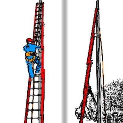 Мобильная система установки гибкой анкерной линии «Сейфхук» — позволяет за несколько минут закрепить верёвку наверху металлоконструкции, столба или другой труднодоступной точки опоры.